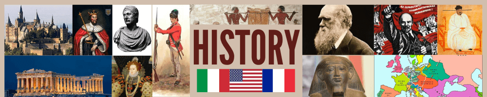 history of the world banner