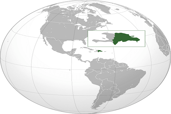 Republica Dominicana Map