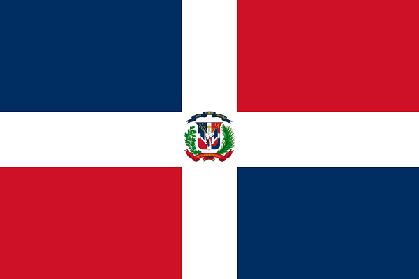 Republica Dominicana Flag